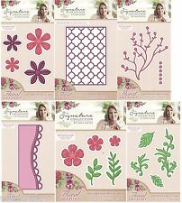 Crafters Companion FLORAL DELIGHT COLLECTION Cutting & Embossing Dies