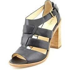 Cole Haan Cameron Sandal Women  Open Toe Leather Black Sandals NWOB