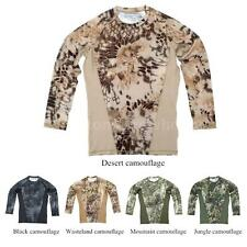 Combat Outdoor Popular Quick Dry Long Sleeve Shirt for Hiking Hunting 40KU