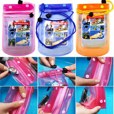 Colors Waterproof Underwater Pouch Dry Bag Pack Case Cover For Cell Phone PDAHot