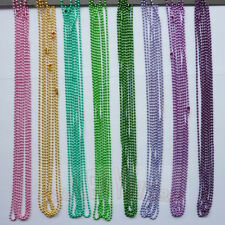 70cm long plating color metal 2.4mm diameter bead chain DIY necklace accessories