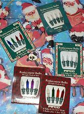 NEW PIFCO CHRISTMAS LIGHTS SPARE LAMP BULBS 272 7851 7852 7863 40 LIGHT SETS ETC