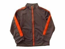 NWT Boy's Gymboree Hop n' Roll gray orange athletic jacket ~ 4 5 6 7 8 10 12