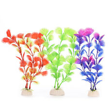 Plastic Plant Artificial Water Grass for Aquarium Fish Tank Ornament Decor AC22