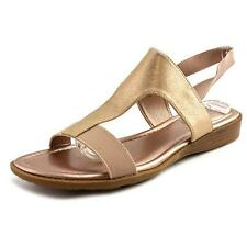 Me Too Zoey   Open-Toe Leather  Slingback Sandal