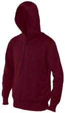 Nixon Watches Nooner Pullover Men's Sweatshirt Bordeaux