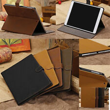 Luxury Leather Smart Case Stand Cover For Apple iPad 2/3/4 ipad Air/Air2 mini