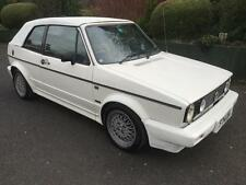 VW Golf MK1 Clipper Cabriolet 1.8 Karmon Edition- White