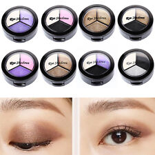 3 Colours Eyeshadow Eye Shadow Palette Makeup Kit Set Make Up Professional Box