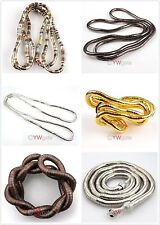 1pcs Mixed Bendy Flexible Snake Chains Necklace/Bracelet 90cm Hot
