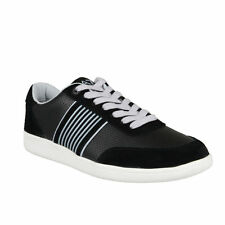 Emporio Armani EA7 Men's Black Suede Leather Fashion Sneakers Shoes 6.5 7 7.5