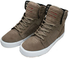 SUPRA SKYTOP Shoes Dark Khaki/White S18263 Sz 8 - 13