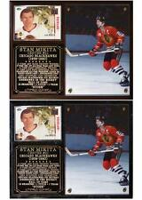 Stan Mikita #21 Chicago Blackhawks Photo Card Plaque Stanley Cup Champ