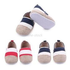 0-12M Infant Toddler Sneakers Baby Boys Girls Soft Sole Non-Slip Crib Shoes F57