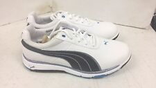 New Puma FAAS Grip 2.0 Golf Shoes White-Black-Blue Aster 187130 02