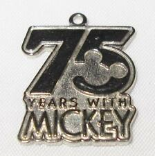 Disney Trading Pin, WDW, Pendant or Charm, 75 Years with Mickey