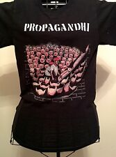 Propagandhi - Pigs - fitted black t-shirt - Official Merch Small