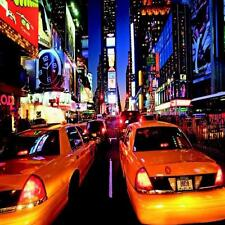 1 WALL PHOTO GIANT WALLPAPER NEW YORK NY TAXI CABS CITY POSTER MURAL 3.60x2.53m