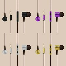 3.5mm In-Ear Stereo Earbuds Earphone Headset Headphone W Mic For Android Phone