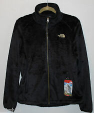 North Face NWT Womens Black Curry Gold Osito Soft Fleece Jacket Coat M L XL XXL