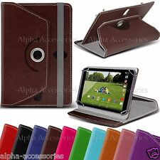 "Universal PU Leather 360â° swivel Case Cover For 7"" 7 Inch Tab Android Tablet PC"