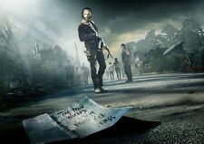 The Walking Dead Poster Print Glossy Borderless Stunning Vibrant A2 A3 A4