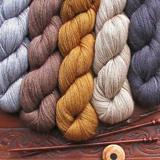 Anne Premium Lace Yarn 70% Baby Alpaca 30% Silk USA Hand Dyed 1 Skein 2oz 375yds