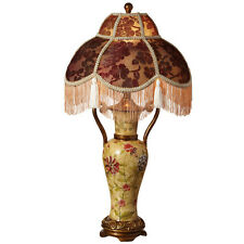 """River of Goods Ladies of Downton 29""""H Table lamp with Bowl shade"""