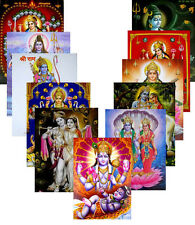 """Wholesale Assorted Lot of Hindu Gods Posters Bulk Pictures Religious  20""""X16"""""""