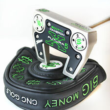 CUSTOM Scotty Cameron mallet Putter FUTURA X5 The CASH Edition with headcover