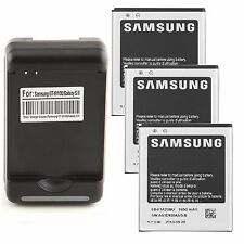 1650mAh Battery + Wall Cradle Charger for Samsung Galaxy S II S2 S 2 i777 i9100
