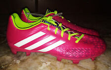 NEW Mens 12 ADIDAS Predator Absolado LZ TRX FG Pink White Soccer Cleats Boots
