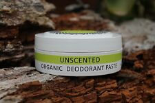 THREE MAMAS ORGANIC DEODORANT PASTE - ALL NATURAL - ALL AVAILABLE + FREE SAMPLE