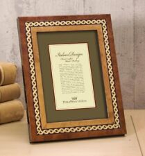Philip Whitney X Design Marquetry Inlay Picture Frame