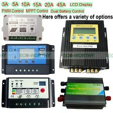 3A/5A/10A/15A/20A/45A Solar Charge Controller 12V/24V Battery Charge Controller