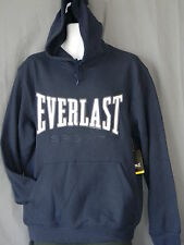 Everlast Hoodie Mens Sizes Navy Blue Sweatshirt Boxing Gym Training Fight MMA