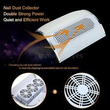 Nail Dust Collector Fingernail Cleaning Collector Nail Dust Collection Fan Y6J8