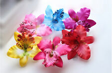 Bridal Wedding Orchid Flower Hair Clip Barrette Women Accessories  Nice CAON