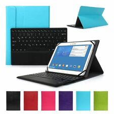 """10"""" PU Leather Cover Case+Detachable Wireless Bluetooth Keyboard for ipad 2/3/4"""
