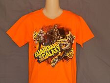 Guardians of the Galaxy Tee Shirt Youth Boys Sizes Marvel Comics Orange GotG New