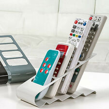 TV DVD VCR Remote Control Storage Rack Cell Phone Holder Storage Stand