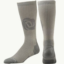 NEW Mens L ADIDAS D Rose Climalite Graphic Grey Crew Basketball Socks Fit 9.5-12