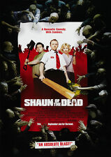 Shaun of the Dead Glossy Poster Print Borderless Stunning Vibrant A2 A3 A4