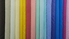 Voile Plain Fabric Sold per Metre Curtain Craft Wedding Material 150cm wide