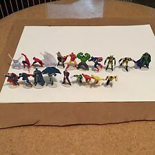 **HEROICS_MINI Figures_DC & MARVEL_Superman_Batman_Hulk_Spiderman-RARE_Thor_**