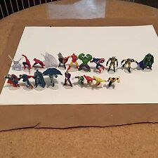 **HEROICS_MINI Figures_DC & MARVEL_Superman_Batman_Hulk_Thor_Martian Manhunter**