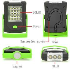 Portable 23 LED Night Light Flashlight Torch Lantern Camping Bicycle Lamp
