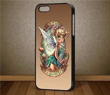 Punked Tinkerbell Disney Princess Phone Case For iPhone, Samsung Galaxy, HTC