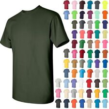Gildan Mens Heavy Cotton Short Sleeve T-Shirt Cotton XL  5000