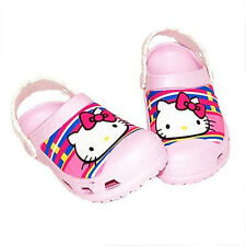 Kid's Toddler's Girl's Hello Kitty Clogs Sandals **USA shipping**
